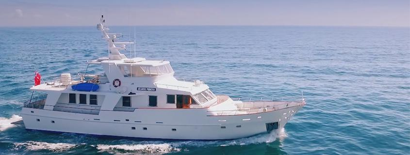 Atlantic Princess Charter Gold Coast Luxury Boat Hire Gold Coast